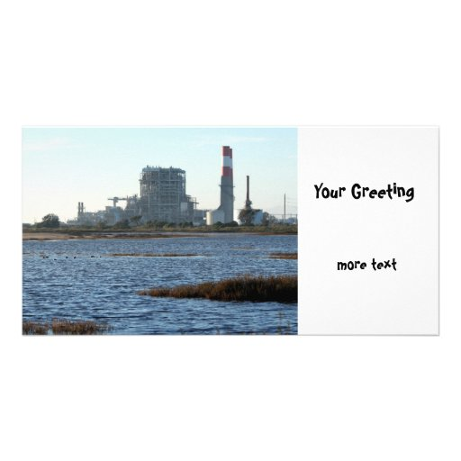 Power Station Photo Card Template