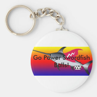 Power Swordfish Balls Keychain