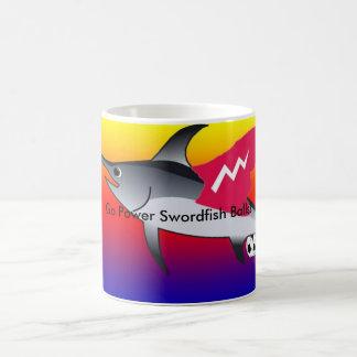 Power Swordfish Balls Mug