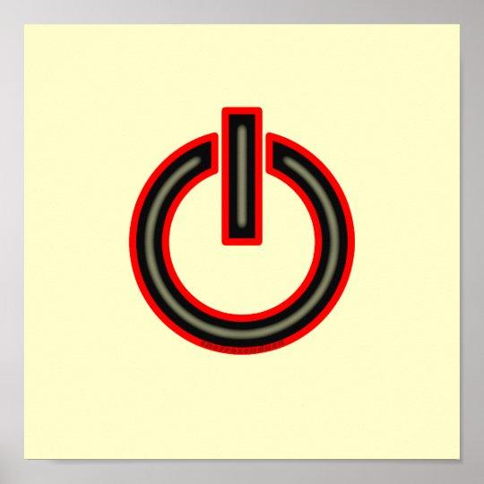 Power Symbol Poster