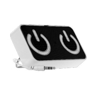 Power Symbol Laptop Speakers