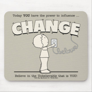 Power To Change Mouse Pad