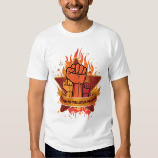Power to the Lotus People T-shirts