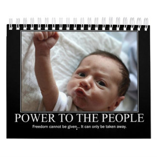Power to the People Calendar