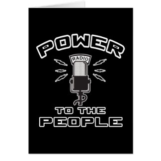Power to The People Cards