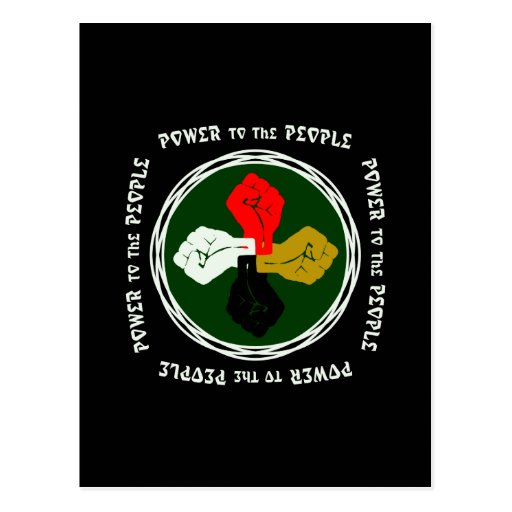 Power to the People Egypt Post Cards