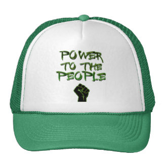Power to the People! Mesh Hats
