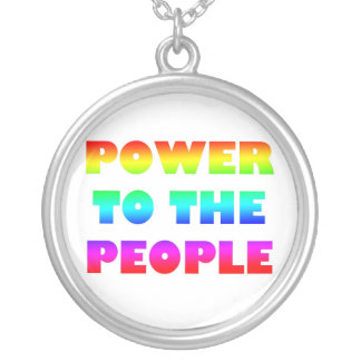 Power to the People Custom Jewelry