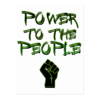 Power to the People! Postcard