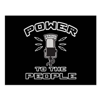 Power To The People Post Cards