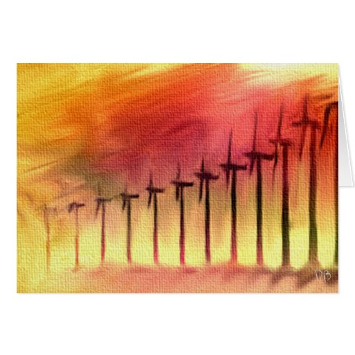 """Power To The People"" Wind Energy Cards"