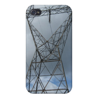 Power tower skin for a powerful phone iPhone 4/4S cover
