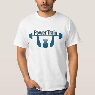 Power Train Workout Tee Shirts