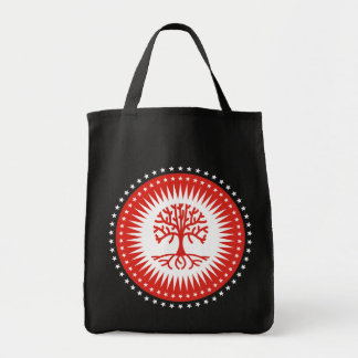 Power Tree Grocery Tote Bag