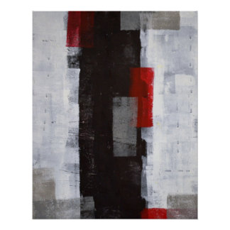 'Power Trip' Abstract Art Poster Print