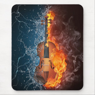 Power Violin Mouse Mat