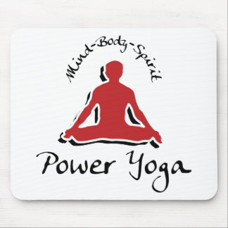 Power Yoga Gift Mouse Pad