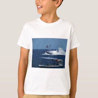 Powerboat and a helicopter T-Shirt