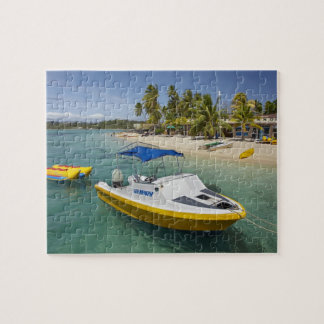 Powerboat and banana boat jigsaw puzzle