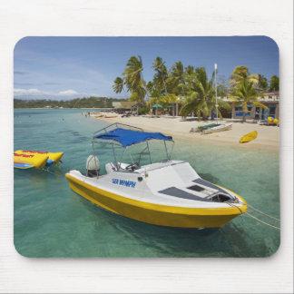 Powerboat and banana boat mouse mat