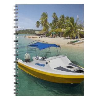 Powerboat and banana boat notebook