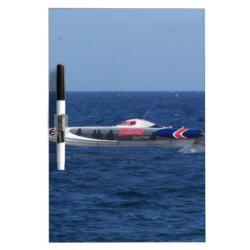 Powerboat Dry-Erase Board
