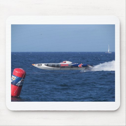 Powerboat Mouse Pads