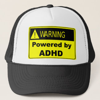Powered by ADHD Trucker Hat