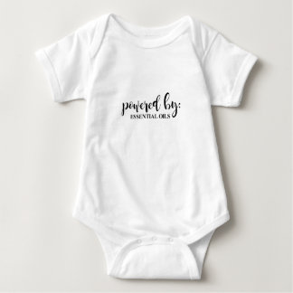 POWERED BY BABY BODYSUIT