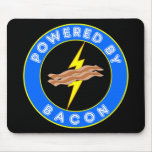 Powered By Bacon Mouse Mats