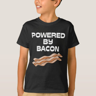 Powered By Bacon Tee Shirt