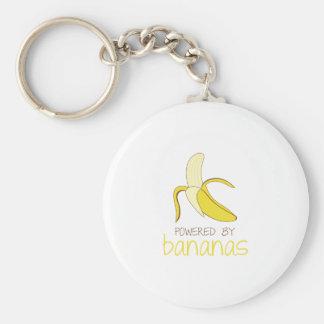 Powered By Bananas Key Ring