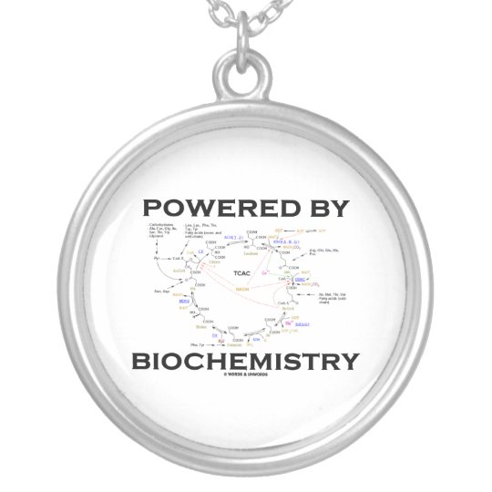 Powered By Biochemistry (Krebs Cycle / TCAC) Silver