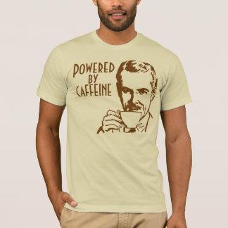 Powered By Caffeine Retro T-Shirt