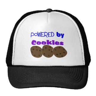 """""""Powered by Cookies""""---funny T-shirt Hat"""