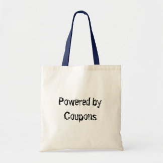 Powered by Coupons Budget Tote Bag