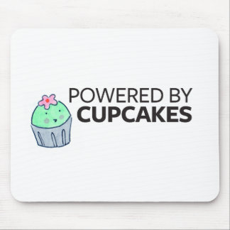 Powered by Cupcakes Mouse Mat