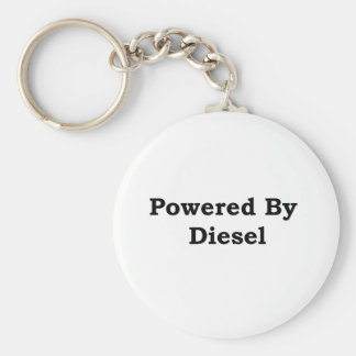 Powered By Diesel Basic Round Button Key Ring