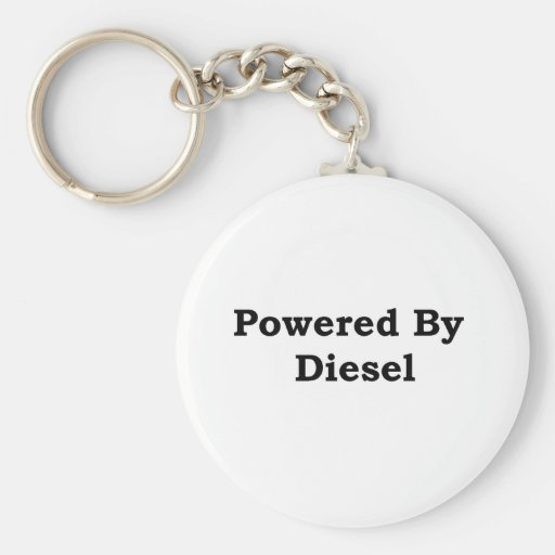 Powered By Diesel Key Chains