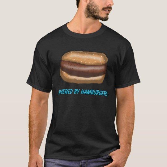 Powered by Hamburgers T-Shirt