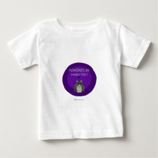 Powered By Hamster (winter white) Baby T-Shirt