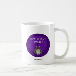 Powered By Hamster (winter white) Coffee Mug