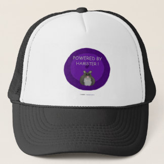 Powered By Hamster (winter white) Trucker Hat