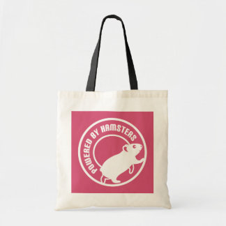 Powered by Hamsters Tote Bag