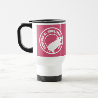 Powered by Hamsters Travel Mug