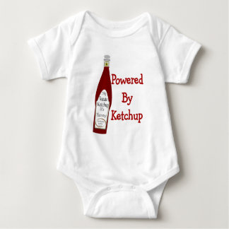 Powered By Ketchup Baby Bodysuit