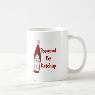 Powered By Ketchup Coffee Mug