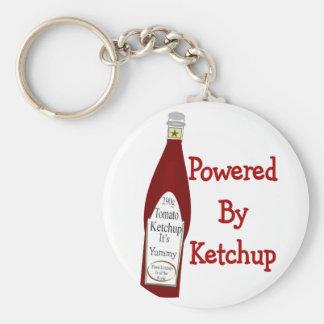 Powered By Ketchup Key Ring