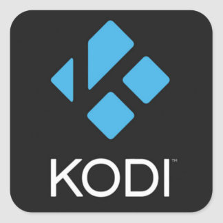 Powered by Kodi Stickers