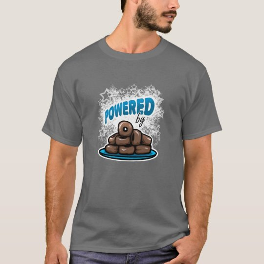 Powered by Little Chocolate Doughnuts T-Shirt